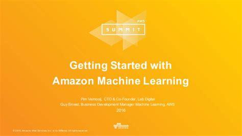amazon machine learning amazon machine learning