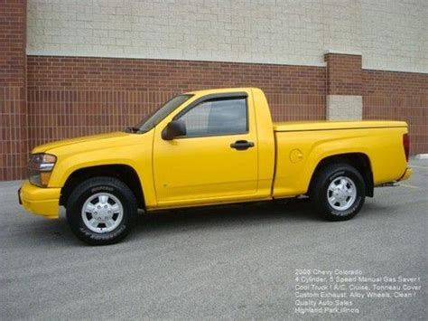 buy car manuals 2006 chevrolet colorado user handbook purchase used 2006 chevy colorado 5 speed manual 4 cylinder gas saver yellow alloys a c cruise
