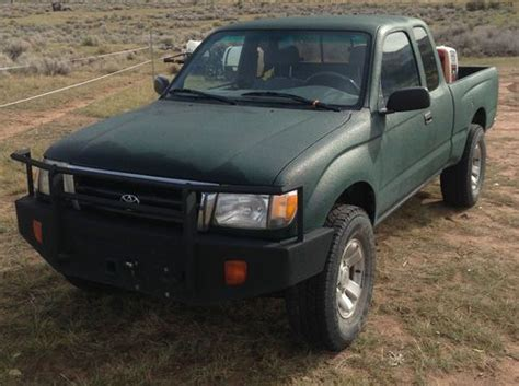1998 Toyota Tacoma 4x4 Mpg Find Used 1998 Toyota Tacoma Sr5 Extended Cab 4x4 V6 In