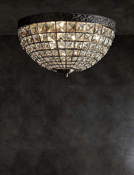 gem ball flush ceiling light mamps