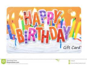 birthday gift card stock images image 13493224