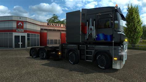 renault truck magnum renault magnum 8x4 10x4 1 21 for ets2 trucks euro