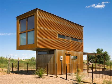 micro houses tiny stacked marfa 10 215 10 house is a minimalist artistic