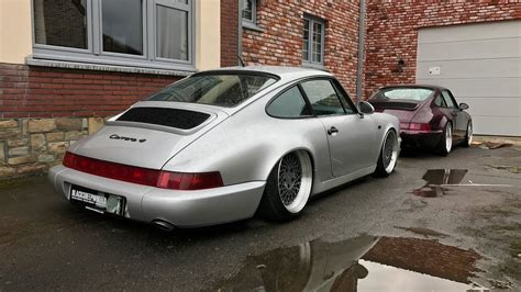 porsche modified modified porsche 964 x2 on rotiform vlog 061