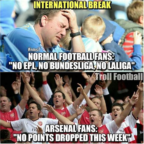 Football Memes Arsenal - best 25 arsenal memes ideas on pinterest santa monica