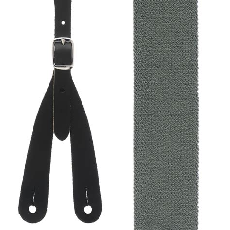 Rugged Suspenders by Cactus Green Rugged Comfort Western Suspenders Button On