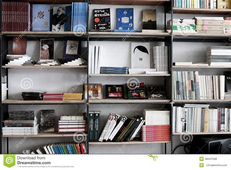 book shelf editorial stock photo image 48447568