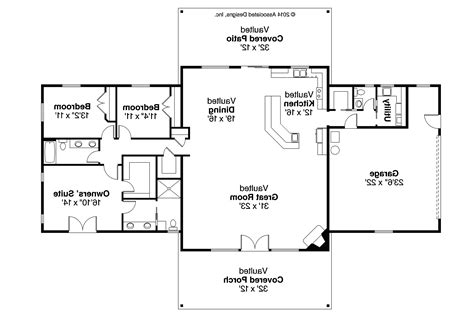 ranch style floor plans open ranch style house plans with open floor plan tearing home corglife luxamcc
