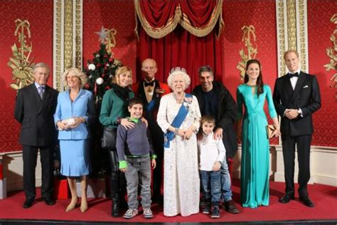 the royal family the royal family picture of madame tussauds london