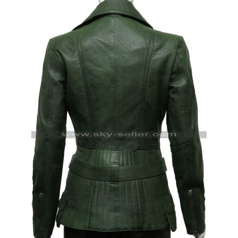 green motorcycle jacket green womens biker style leather jacket