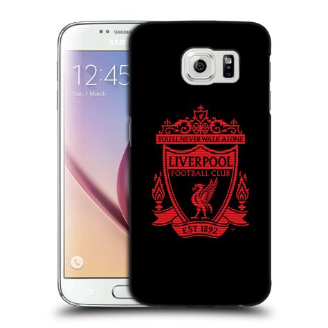 Casing Samsung S6 Edge Liverpool Fc Custom Hardcase Cover Official Liverpool Fc Lfc Crest 2 Back For