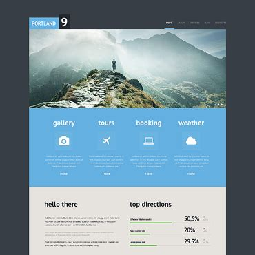 website templates for travel agency travel agency responsive website template 45959