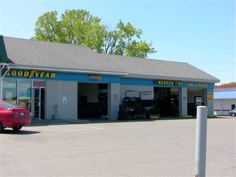 tires auto repair shop johnstown ny warren tire service center