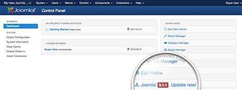 manual joomla upgrade how to upgrade joomla