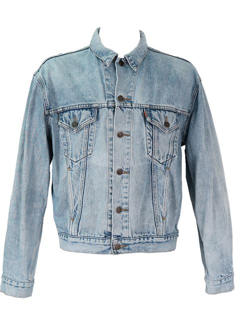 light blue denim jacket levis light blue denim jacket l xl reign vintage