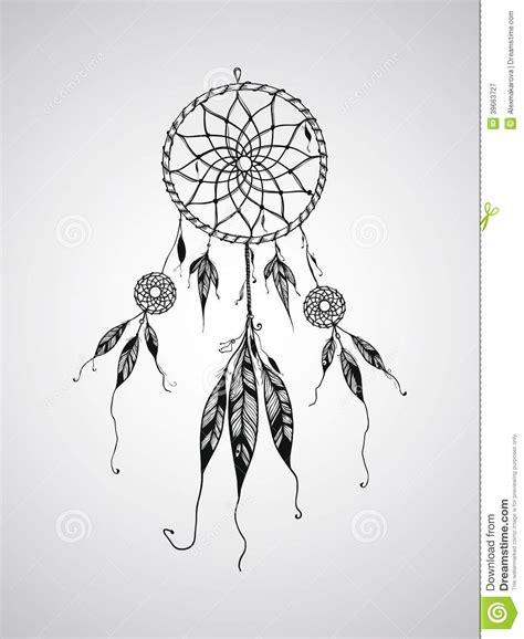 dream catcher tattoo vector vector dream catcher stock vector image 39663727