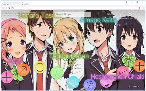 Gamers! Wallpapers HD Gamers Anime New Tab   Free Addons