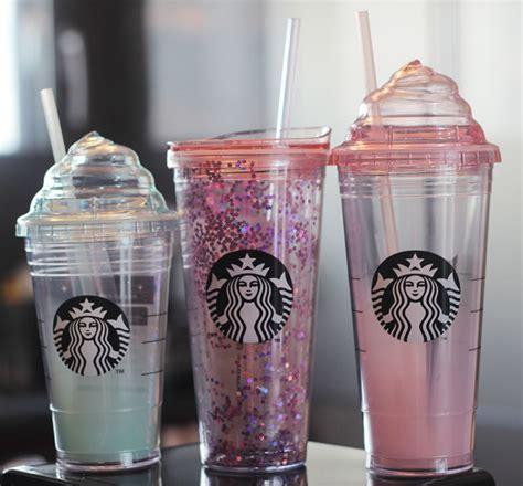 Starbucks Summer Siren Pink Glass Grande Tumbler starbucks tumbler pink shop collectibles daily