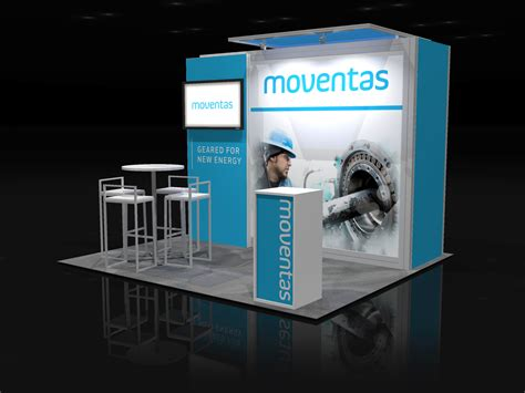 design booth for trade show move003 10x10 trade show booth rental exhibitrents