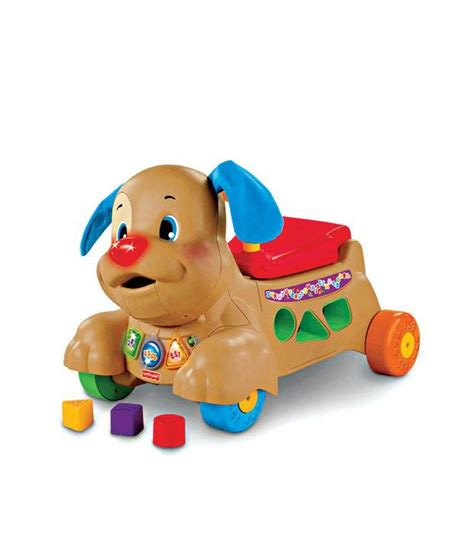 fisher price ride on puppy fisher price laugh learn stride to ride puppy buy fisher price laugh learn