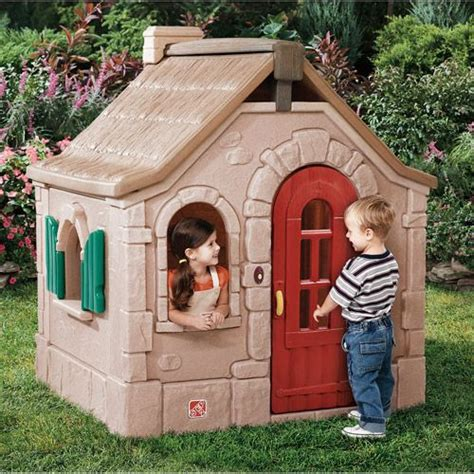 step2 naturally playful storybook cottage features a