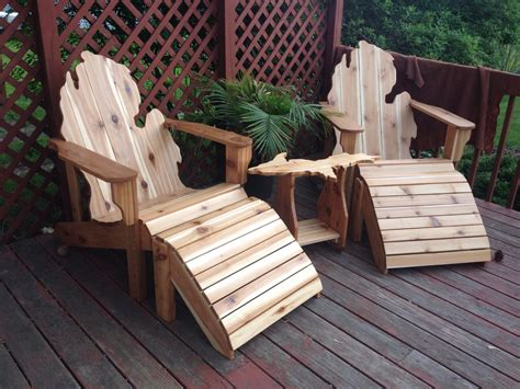 Backyard Creations Ottoman Backyard Creations Deluxe Adirondack Chair 28 Images K