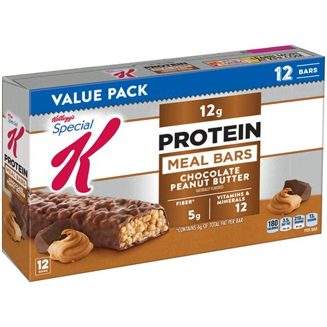 k protein bars kellogg s special k protein meal bars chocolate 6