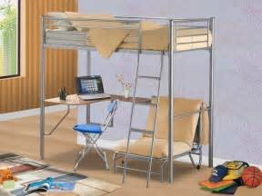 Bunk Bed With Table Underneath Bunk Beds With Desks Underneath