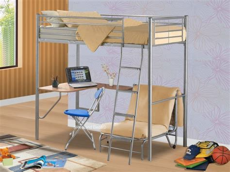 Bunk Bed With Table Underneath Bunk Bed With Desk 11397