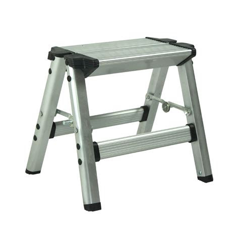 outdoor step stool aluminum folding ladder thickened household small outdoor