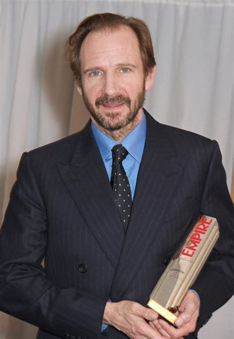Ralph Fiennes Says That He Is The Victim by I No Regrets By Ralph Fiennes Like Success