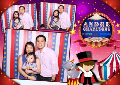 Christening Events Pose And Print Photobooth Philippines Baptism Photo Booth Template
