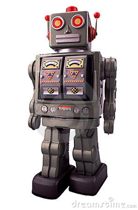 toy robot royalty  stock  image