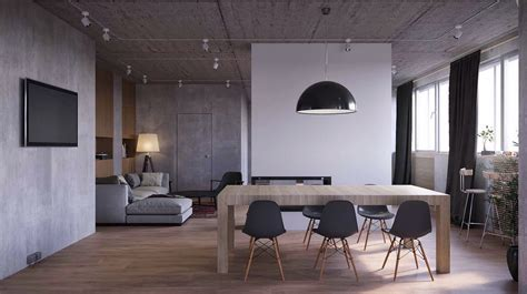 Modern Grey Dining Room Take A Bite Out Of 24 Modern Dining Rooms