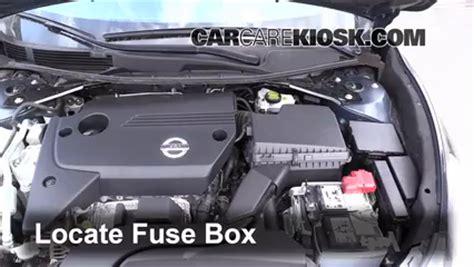 2015 Nissan Altima Light Fuse replace a fuse 2013 2015 nissan altima 2014 nissan