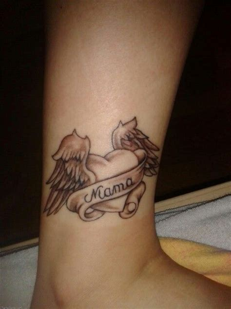 rip mom tattoos designs wing for tattoos tattoos