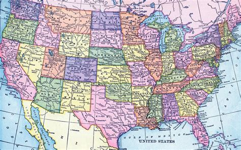 printable detailed map of the united states states federal motor carrier safety administration