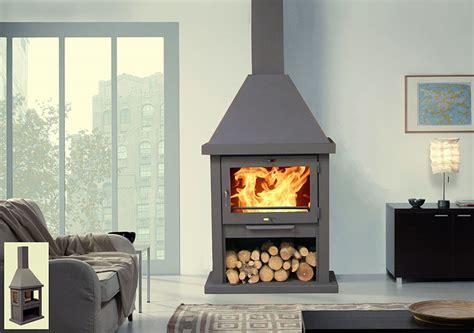 pole chemine en acier combustion bois otis