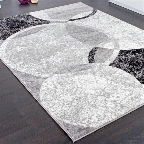 teppiche de designer teppich wohnzimmer teppich kreis muster in grau