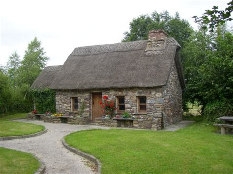 Small Cottages file the famine garden newmarket co kilkenny geograph