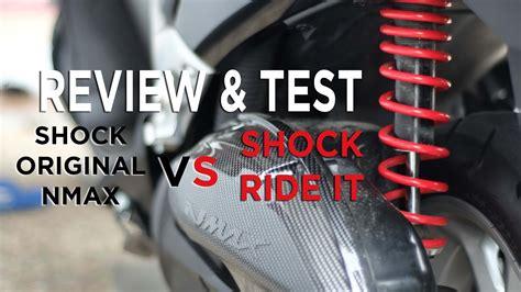 Shock Belakang Nmax Ride It review test shock belakang ride it 330mm tanpa