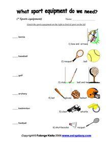 esl, english vocabulary, printable worksheets, sports