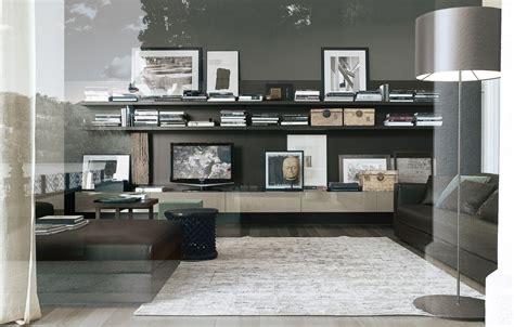 libreria sintesi sintesi bookcase poliform tomassini arredamenti