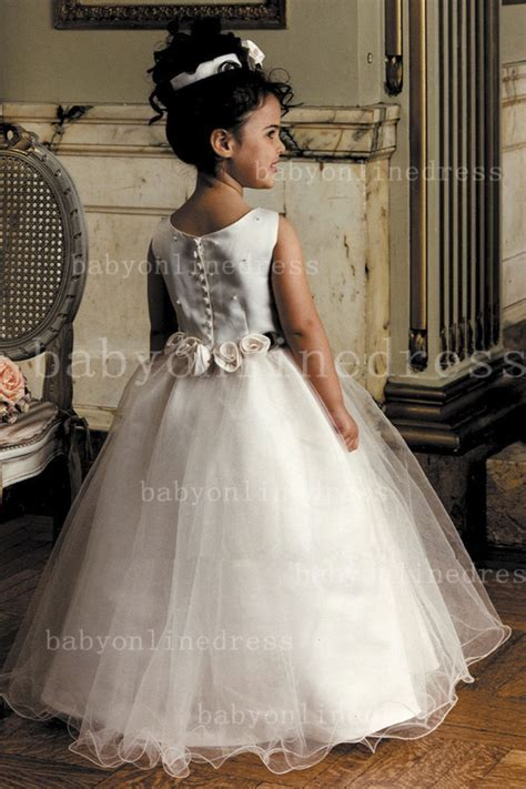 Designer Flowers Little Girls Pageant Gowns Tulle Princess for Sale   Products   27DRESS.COM