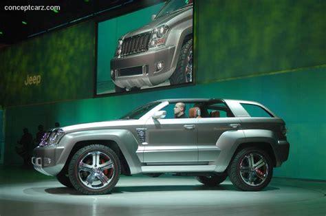 Jeep Tomahawk 2007 Jeep Trailhawk Concept Conceptcarz