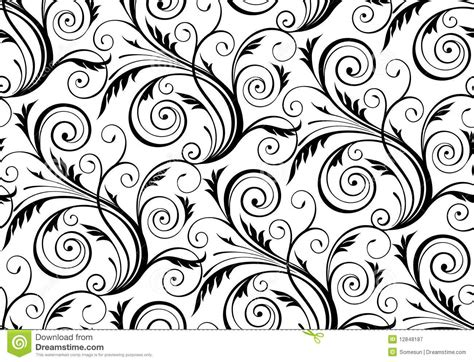 floral seamless pattern vector vector seamless floral pattern stock vector image 12848187