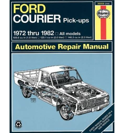 car repair manuals online free 1988 ford courier on board diagnostic system ford courier workshop manual download