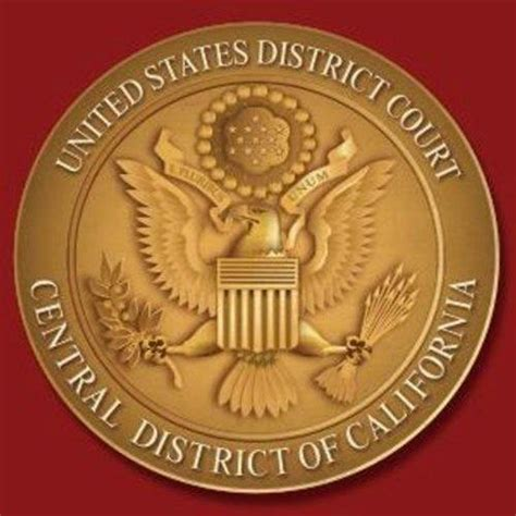 Central District Of California Search United States District Court Central District Of