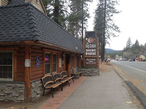 Cabin Restaurants by Log Cabin Restaurant In Tahoe Picture Of Log Cabin Cafe Tripadvisor