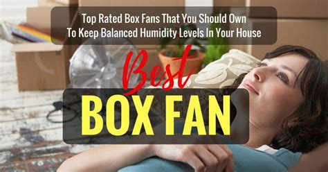 what should the humidity in your house be best box fan 2017 top rated box fans that you should own to keep balanced humidity